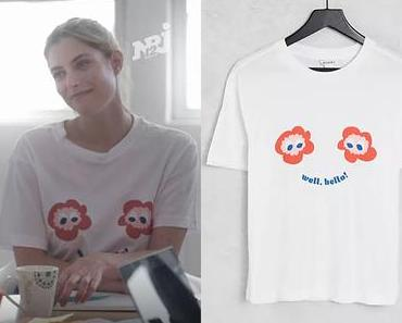 INFLUENCES : le t-shirt Well Hello d'Alex