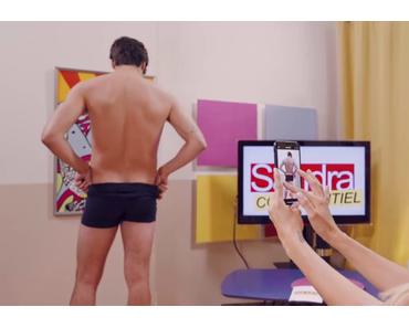 INFLUENCES : les poses sexy de Fabien dans l'épisode 9