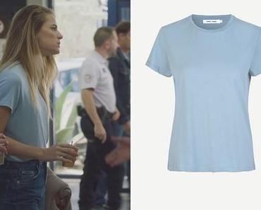 DEMAIN NOUS APPARTIENT : le t-shirt bleu de Victoire dans l'épisode 1034