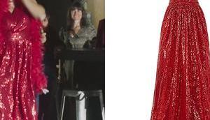 DEMAIN NOUS APPARTIENT robe paillettes Gabriel(la) dans l'épisode 1034