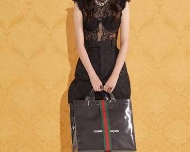 Mode Mixte : Gucci x Comme des Garçons Le Tote Bag