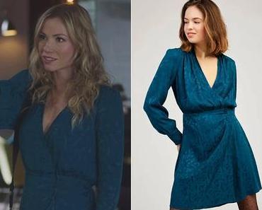 DEMAIN NOUS APPARTIENT : la robe bleu canard de Maud dans l'épisode 1036