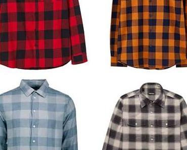 Les chemises à carreaux pour homme